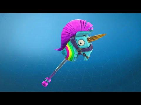 Fortnite Rainbow Smash Pickaxe Review+Sound Showcase!!!