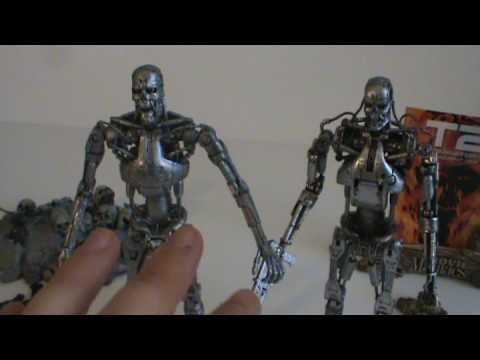 T 850 Terminator Terminator T 800 Vs T 850 Toy spot - mcfarlane toys vs neca terminator ...