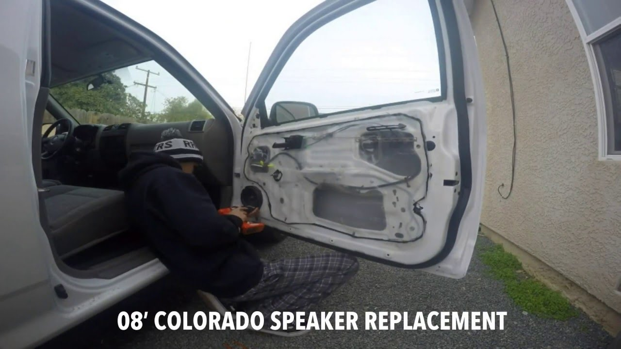 Colorado Speaker Replacement & Colorado Speaker Replacement - YouTube