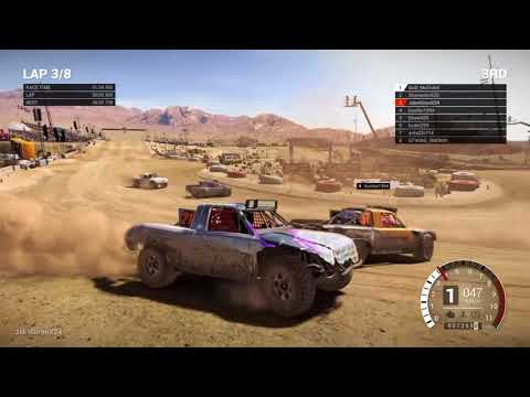 Dirt 4 stadium Trucks- Nevada/ Rough Race