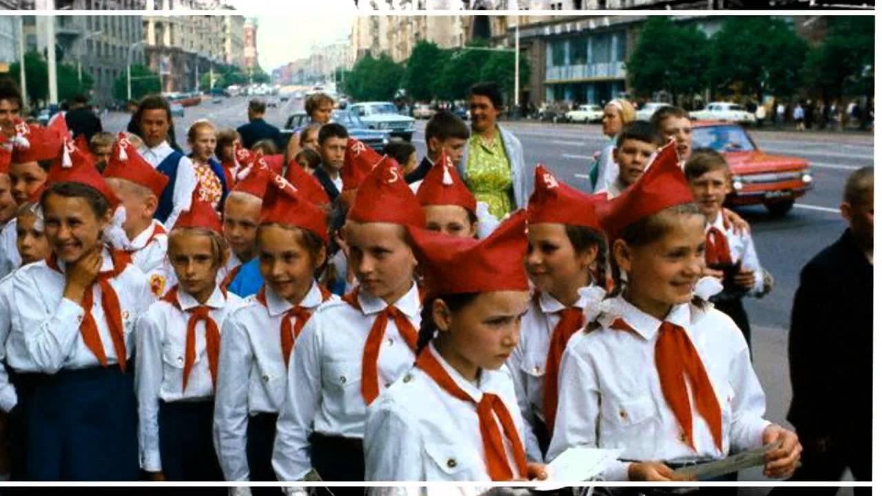 пионерские песни советских времен