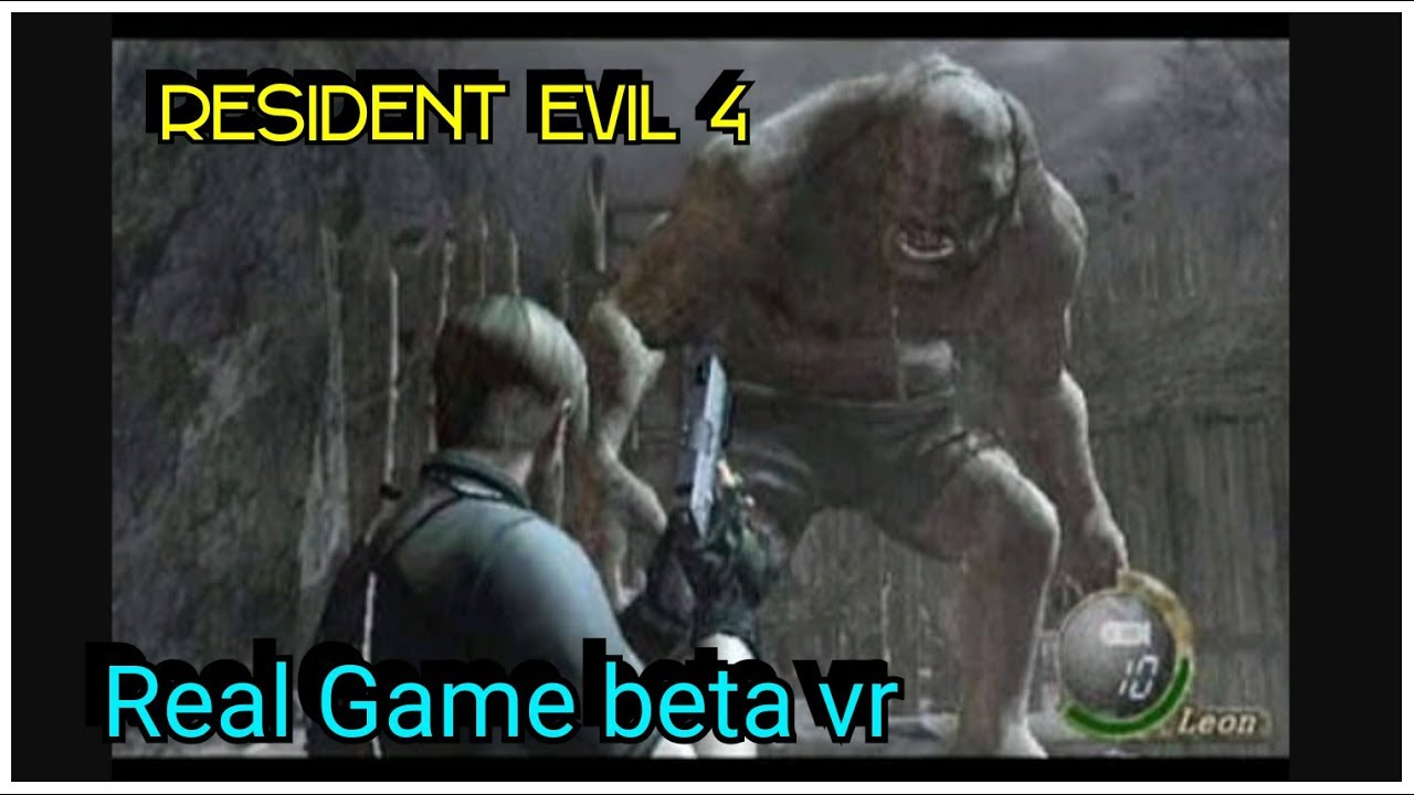 RESIDENT EVIL 4 REAL APK BETA FULL STORY GAME DOWNLOAD ONLY