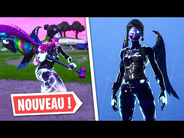 SKIN GALAXY FILLE GRATUIT SUR FORTNITE !