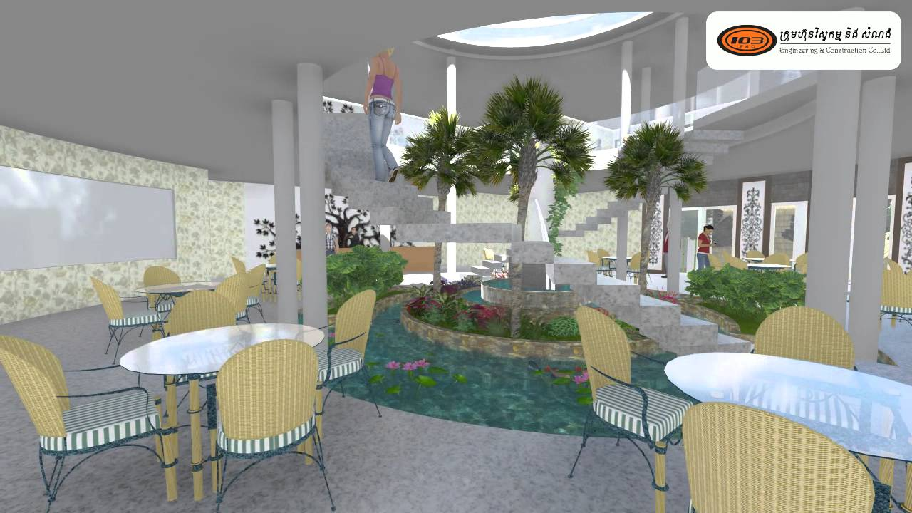Sketchup lumion restaurant home option youtube