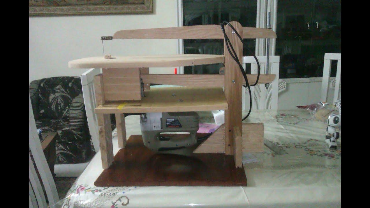 Sierra caladora de mesa de madera casera doovi for Sierras de mesa