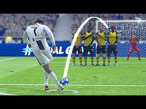 FIFA 19 Rabona Free Kick Tutorial