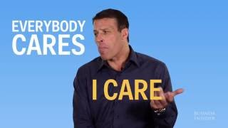 Tony Robbins explains how to not let opinions of others affect you
