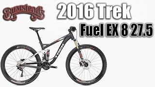 2016 Trek Fuel EX 8 27.5 Full Suspension Mountain Bike Review