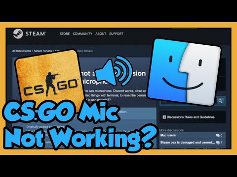 How To Fix Your CS:GO Microphone On A Mac (2019)
