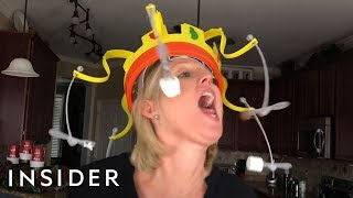 Board Game Spins Food Around Your Head