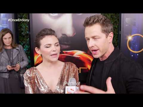 Ginnifer Goodwin y Josh Dallas de Once upon a time