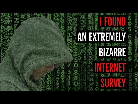 ''I Found an Extremely Bizarre Internet Survey'' | COMMUNITY SPECIAL VOL. 1