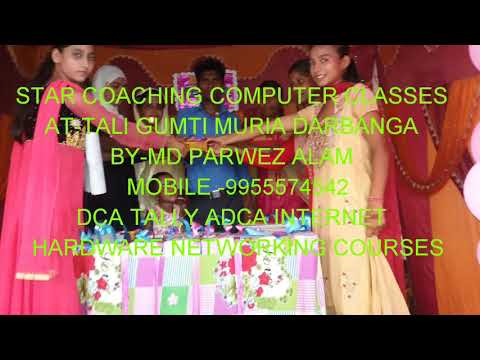 Star Coaching Computer Classes - DCA TALLY ADCA INTERNET HARDWARE NETWORKING COURSES AT-TALI