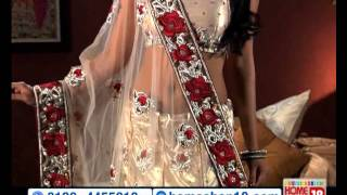HomeShop18.com - Exquisite Designer Saree by Hiba