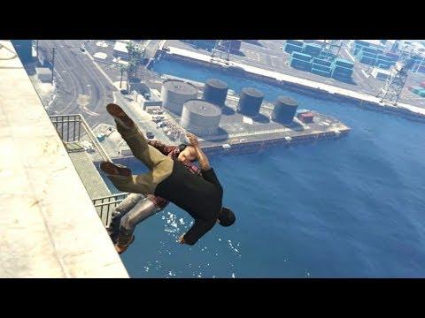 GTA 5 Epic ragdolls compilation vol.42 Funny moments Grand Theft Auto V