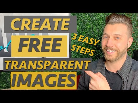 How To Make A Background Transparent In Canva.com FREE Lunapic PNG File
