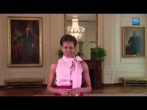 New Virtual Tour of the White House! Online with Google Art Project - Michelle Obama [HD]
