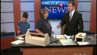 Lee Valley Tools Build-a-toolbox Event (august 15, 2012) Ctv Edmonton