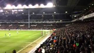 Newcastle fans at Spurs 17/12/14