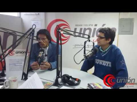 Entrevista muy interesante con el actor RAFO CALDERON y MIGUEL MEDINA en RADIO UNIÓN