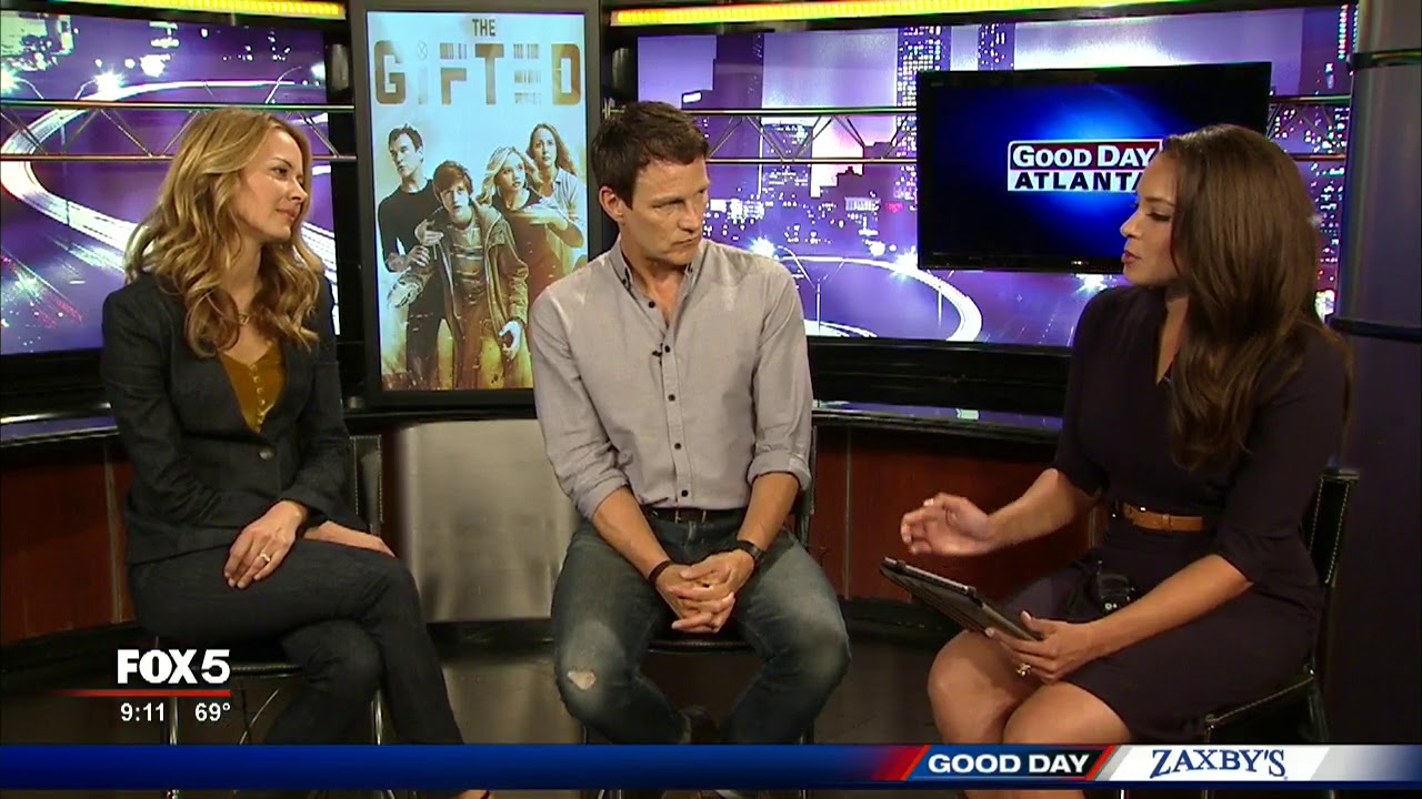 Download Stars from FOX's new series 'The Gifted' join Good Day Atlanta