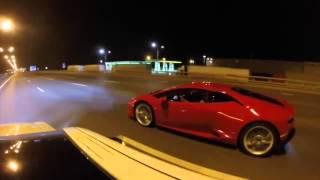 Lamborghini Huracan  vs Mercedes E63 AMG S Renntech thumbnail