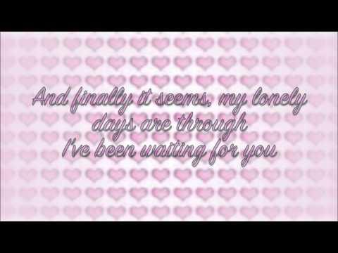 ABBA - I've Been Waiting For You Lyrics - YouTube