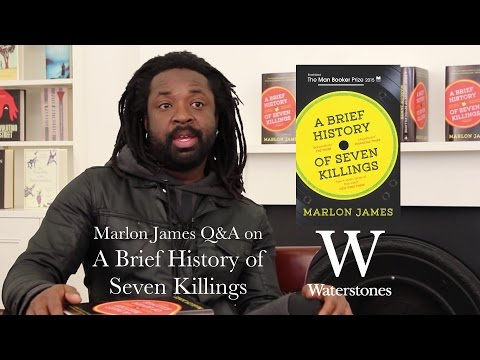 Marlon James Q&A on A Brief History of Seven Killings