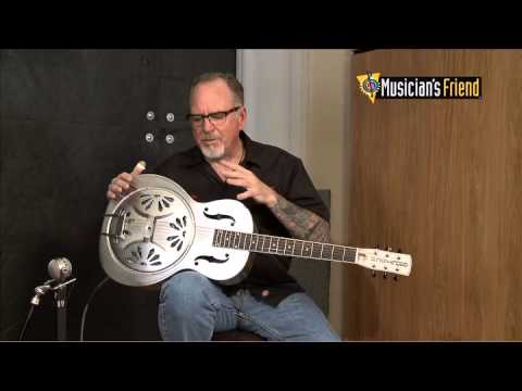 Gretsch G9221 Bobtail™ Steel Round-Neck Acoustic-Electric Resonator Guitar