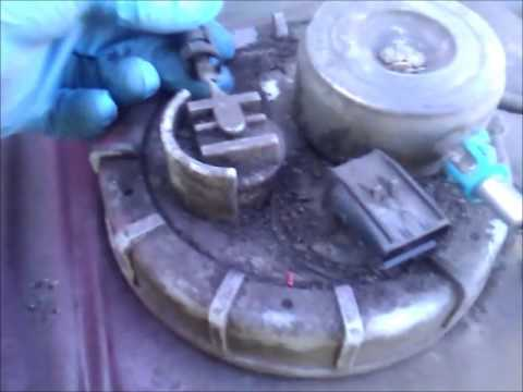 2001 Dodge Ram Fuel Pump Replacement Youtube