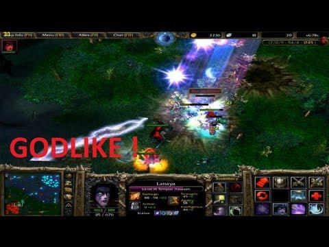 DotA 6.78c - Lanaya, Templar Assassin GODLIKE !