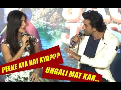 SHOCKING Fight Of Katrina Kaif & Ranbir Kapoor On The Jagga Jasoos Song Launch