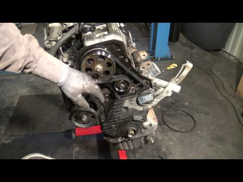 How to replace timing belt Toyota Camry 2.2 5S-FE engine