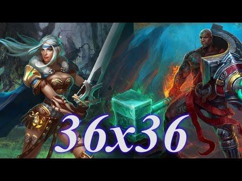 видео: Ведьмак в силу vs Да'Ка в разум  36х36 prime world
