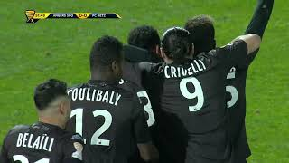 Video Gol Pertandingan Angers SCO vs FC Metz