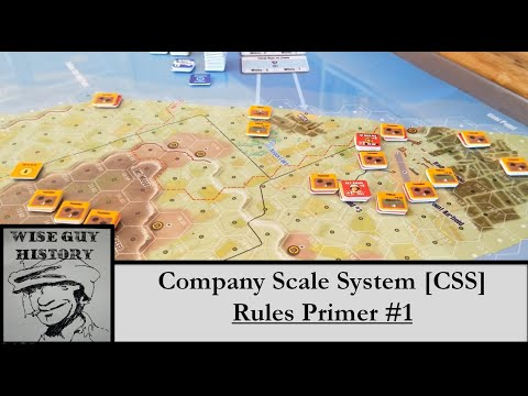 Company Scale System [CSS]: Rules Primer #1 [Unit Info, Activations, Sequence Of Play]