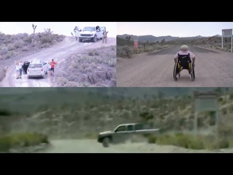 People Trespassing Restricted Signs of Area 51 (Compilation) - FindingUFO