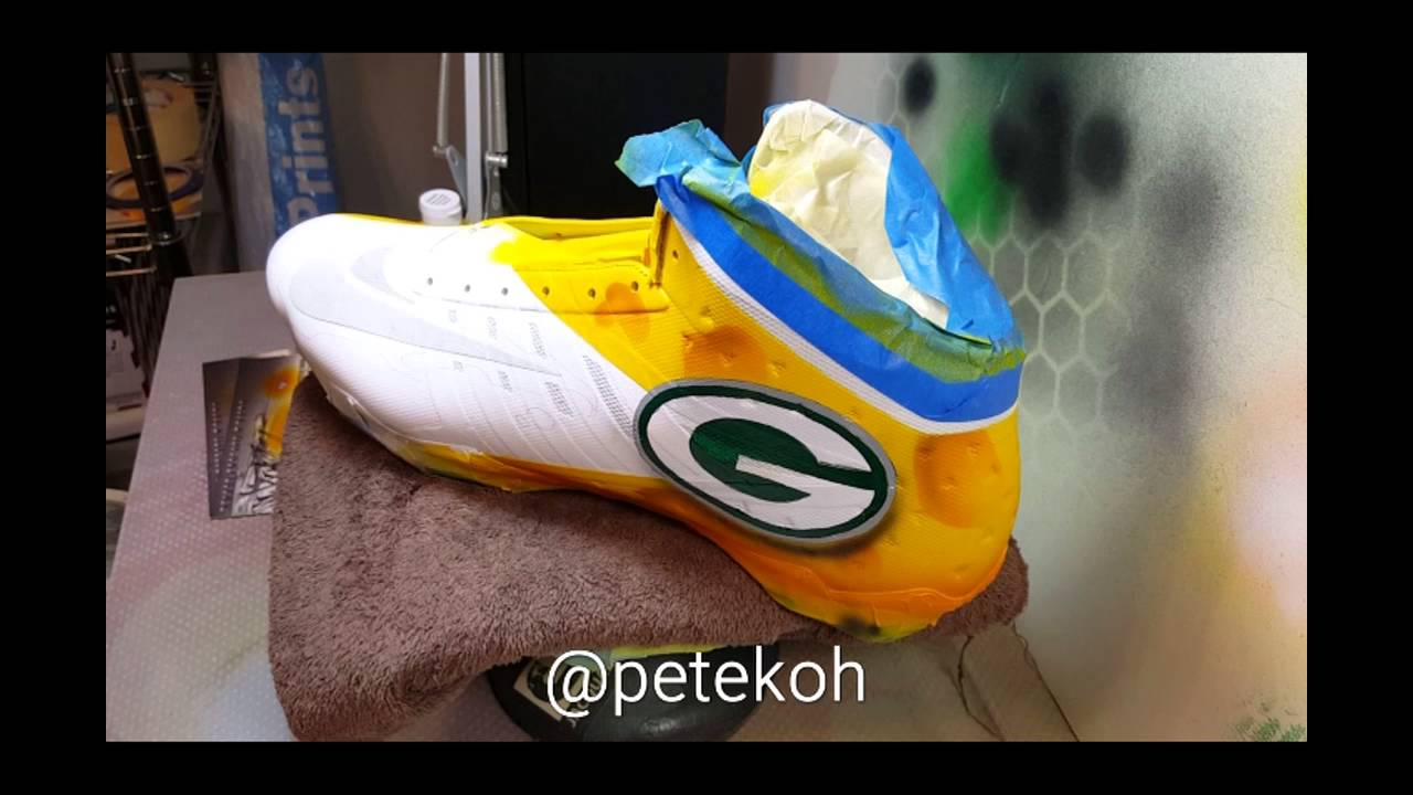 620677895 PART 1 CUSTOM PACKERS CLEATS - YouTube
