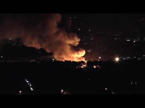 14.09.2016 - ЧП, пожар в Кировском районе г. Новосибирска