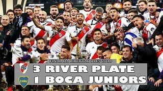River Plate 3 x 1 Boca Juniors - Melhores Momentos - FINAL DA LIBERTADORES