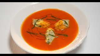 Томатный суп с клёцками  Лазерсон. Любимое