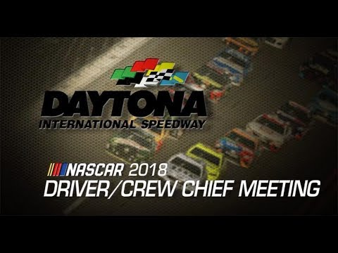 Driver Meeting video for Can-Am Duels
