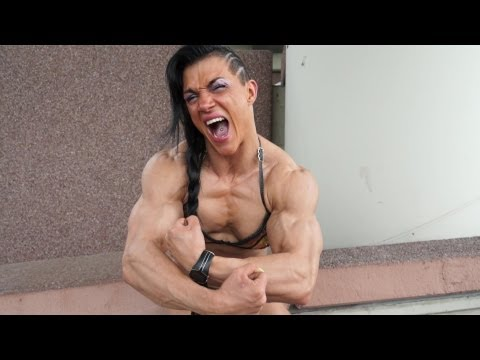 Biggest female bodybuilder - MUSCLE GIRL Virginia Sanchez from YouTube · Duration:  2 minutes 2 seconds