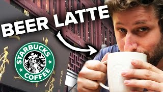 Americans Try Chinese Starbucks