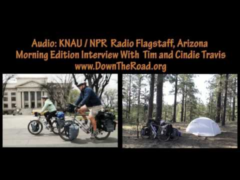 Radio interview with DownTheRoad.org and NPR public radio of Flagstaff, Arizona
