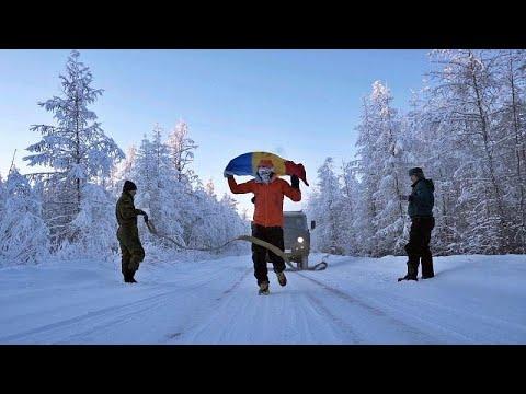 شاهد: أشجع رجل في العالم يركض 50 كيلو متر في أبرد مكان في العالم …  - نشر قبل 3 ساعة