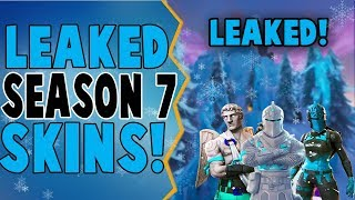 *Leaked* Potential Fortnite Season 7 Winter Skins!