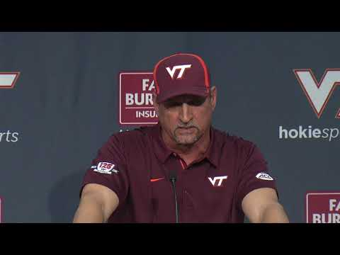 Football vs UNC - Postgame Press Conference (Coach Foster & Student-Athletes)