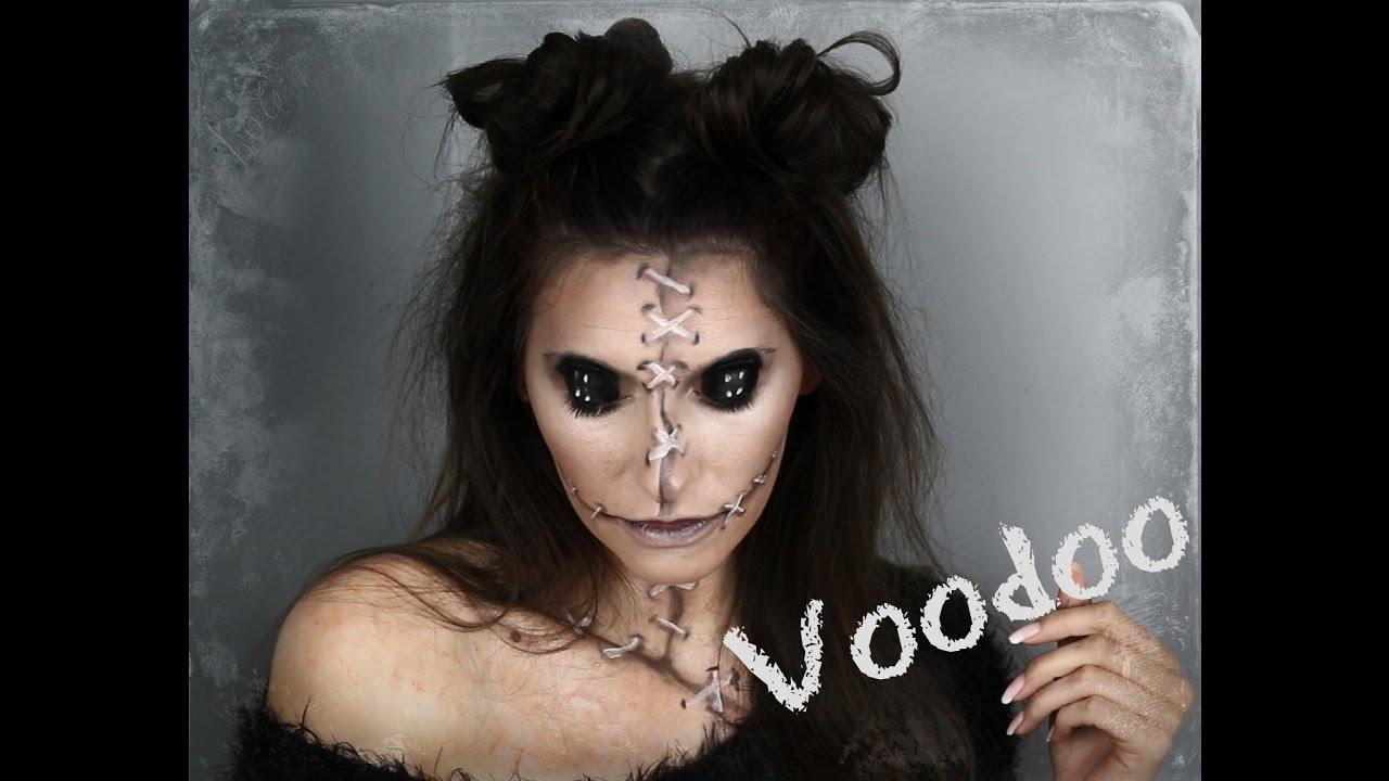 Easy Voodoo Doll // makeup tutorial