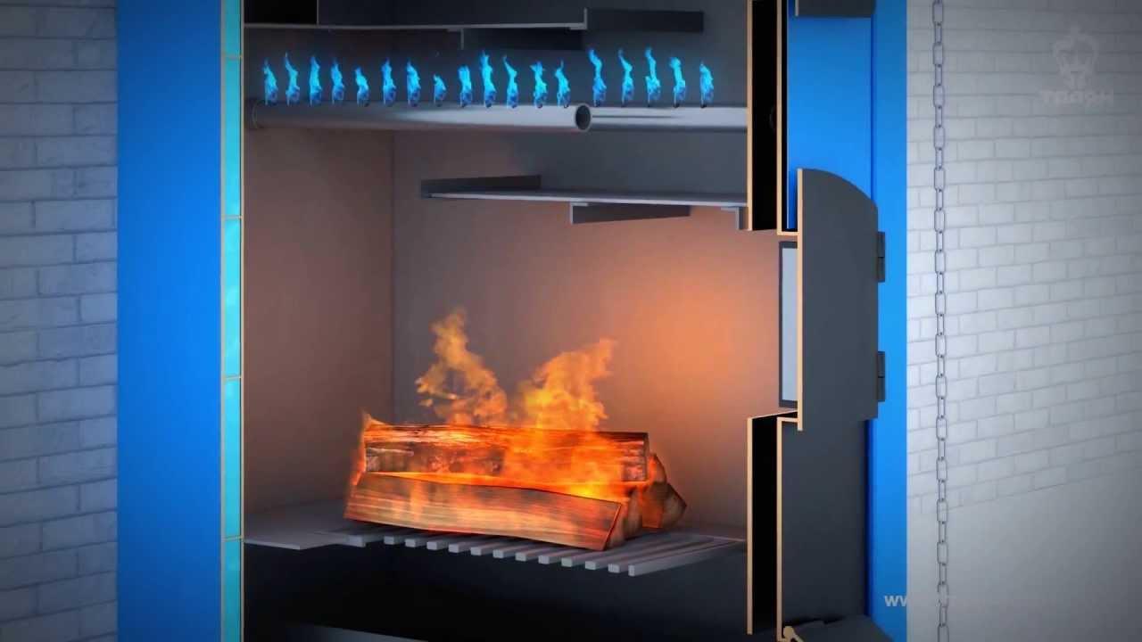 Газогенератор на твердом топливе  видео 180